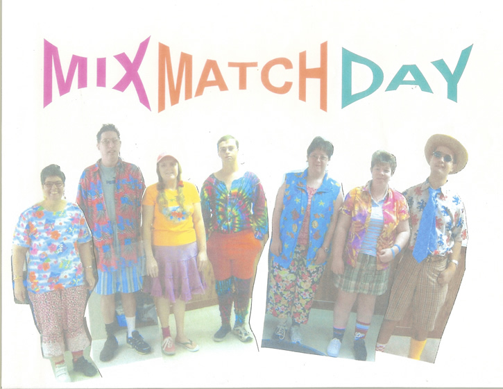 Mix match day